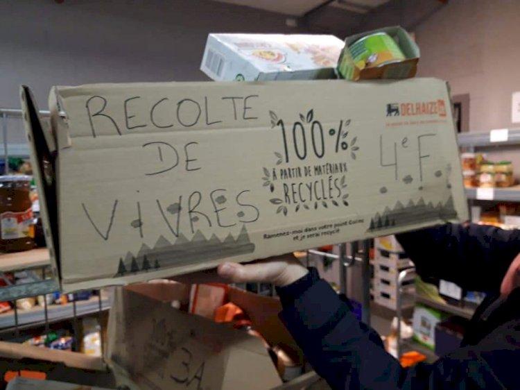 Récolte de vivres - Distribution de nos colis