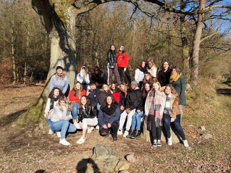 Les élèves de sciences sociales en stage à Stoumont