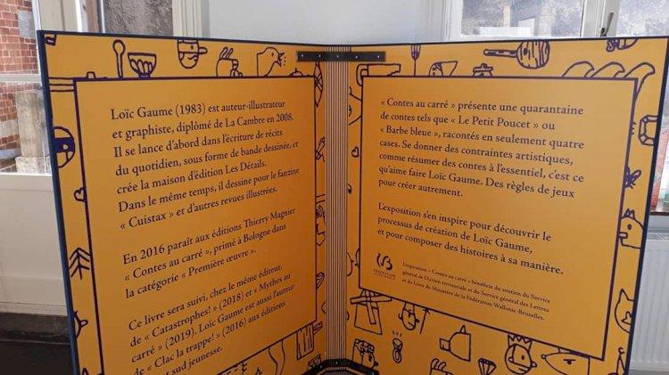 Contes au Carré - 1ère I et K