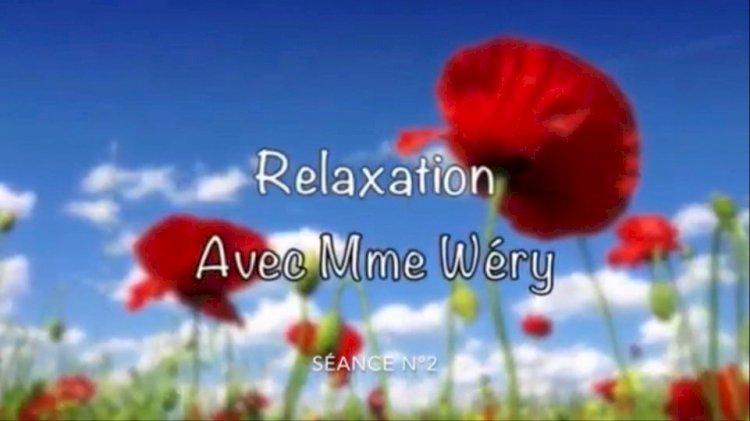 Les séances de relaxation : Vendredi 3 avril séance n°2