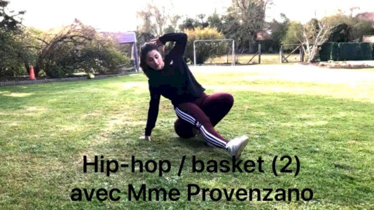 Danse avec Mme Provenzano : Deux danses ! Hip-hop/Basket et Hip-hop