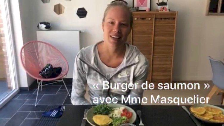 Les recettes : Mardi 28 avril Burger de saumon avec Mme Masquelier